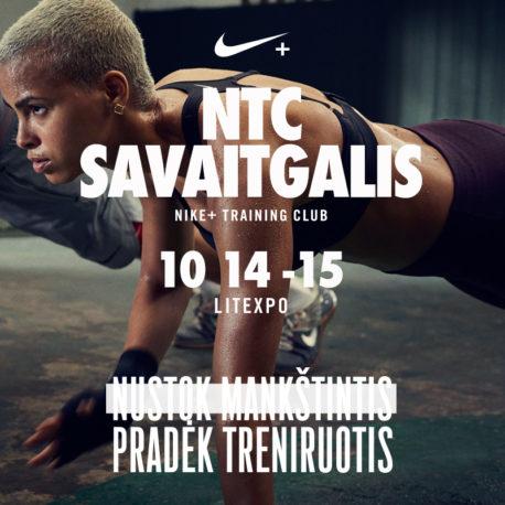 NIKE + TRAINING CLUB SAVAITGALIS