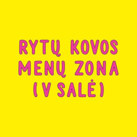 KOVOS MENŲ ZONA (5 SALĖ)